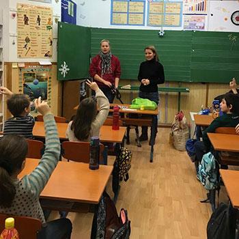 állatvédelmi oktatás Szentendrén, iskolákban
